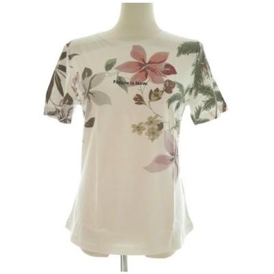 Desigual バックオープンTシャツ 21SOTK06
