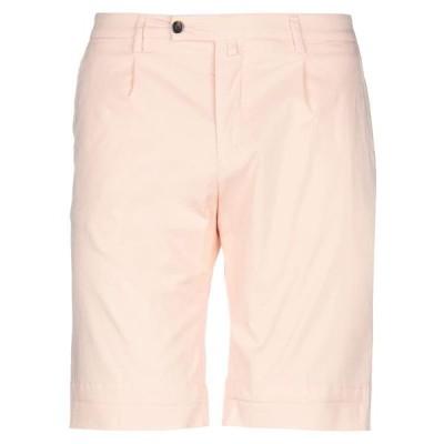 BRIGLIA 1949 ショートパンツ&バミューダパンツ  メンズファッション  ボトムス、パンツ  ショート、ハーフパンツ ライトピンク
