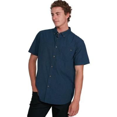 ビラボン Billabong メンズ 半袖シャツ トップス all day short sleeve shirt Navy