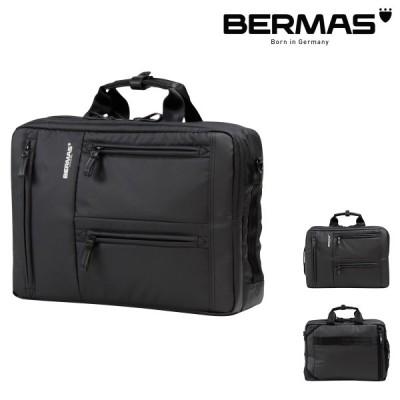 バーマス ビジネスバッグ 3WAY リュック バックパック A4 アルスフェルト メンズ 60351 BERMAS | ブリーフケース ショルダーバッグ キャリーオン 撥水