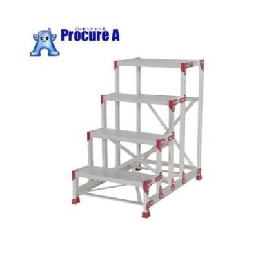 ピカ 作業台 ZG型 4段 幅60cm高さ100cm ZG-4610▼795-0675(株)ピカコーポレイション