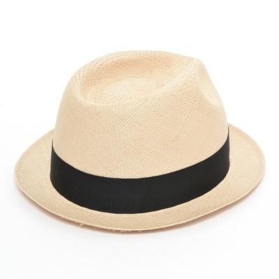 ハットブロック HATBLOCK ストローハット 帽子 中古 古着