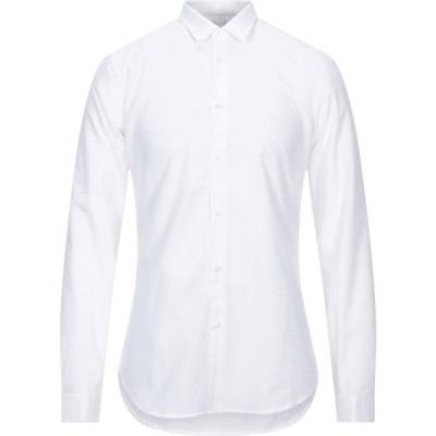ニール カッター NEILL KATTER メンズ シャツ トップス Solid Color Shirt White