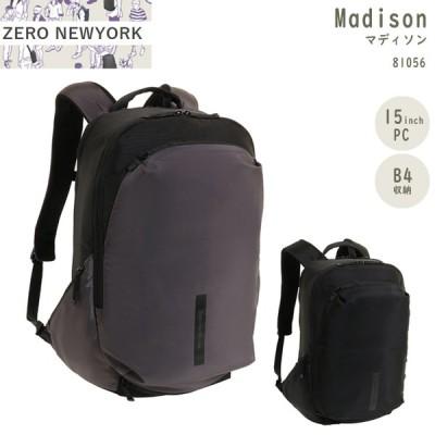 【送料無料】ace エース ZERO NEWYORK ゼロニューヨーク マディソン 81056 22L B4 バックパック リュック