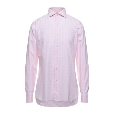 トム フォード TOM FORD シャツ ピンク 40 コットン 100% シャツ