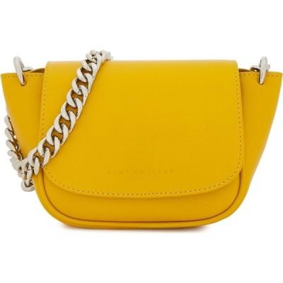 サイモンミラー Simon Miller レディース ショルダーバッグ バッグ mini yellow leather shoulder bag Yellow