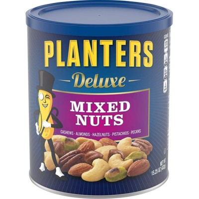 Planters Deluxe Mixed Nuts, 15.25 Ounce (432g)