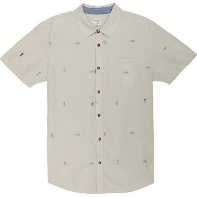 オニール メンズ シャツ トップス Reel Life Short Sleeve Button Down Shirt