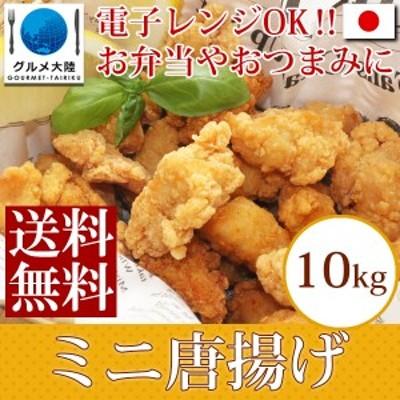 [ ポップ チキン 1kg×10袋 ] 唐揚げ からあげ カラアゲ 肉 冷凍 小粒 フライ 揚げ物 鶏肉 業務用 チキン ドロップ フライドチキン