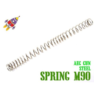 ROCKET AIRSOFT カスタムスプリング 不等間ピッチ M90 SHS 電動ガン スタンダード SHS ロケット M4A1 AK G36