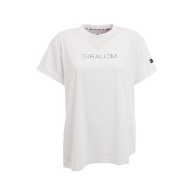 ジローム(GIRAUDM) Tシャツ レディース 半袖 ドライプラス UV プリント 864GM0HD2476 WHT (レディース)
