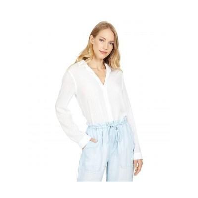 bella dahl レディース 女性用 ファッション ボタンシャツ Button-Down Shirt - White