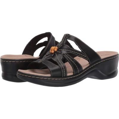 クラークス Clarks レディース サンダル・ミュール シューズ・靴 Lexi Myrtle 2 Black Leather