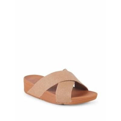 フィットフロップ レディース シューズ サンダル Lulu Cross Slide Sandals