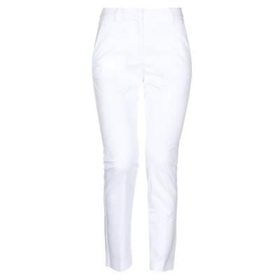 KI6? WHO ARE YOU? パンツ ホワイト 38 コットン 97% / ポリウレタン 3% パンツ