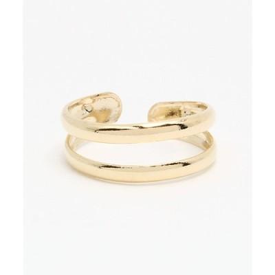 指輪 【チャイハネ】シンプル2連TOEリング