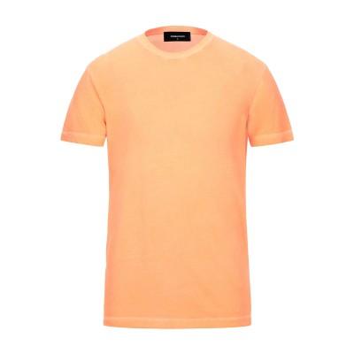 ディースクエアード DSQUARED2 T シャツ オレンジ S コットン 100% T シャツ