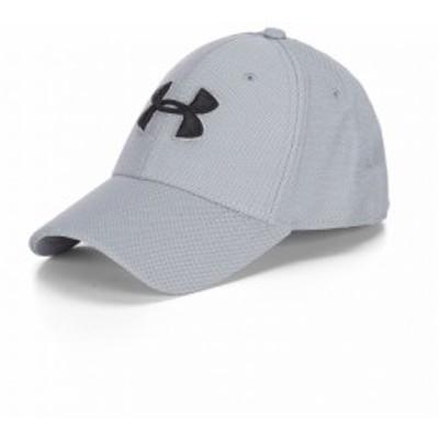 アンダーアーマー Under Armour メンズ キャップ 帽子 Heathered Blitzing 3.0 Cap Steel