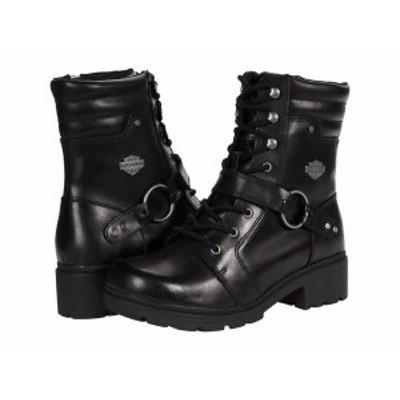 ハーレーダビッドソン レディース ブーツ・レインブーツ シューズ Tegan 6 Harness Black