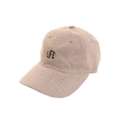 エーシーピージー(ACPG) 帽子 メンズ リネン刺繍 キャップ LIFE 897PA9ST1707 BRN 日よけ (メンズ)