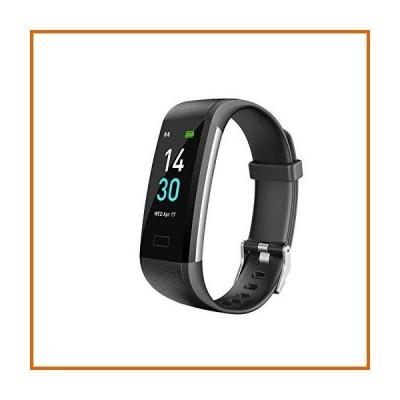 送料無料 TopSolar フィットネストラッカーHR、アクティビティトラッカー腕時計、血圧心拍数モニター、
