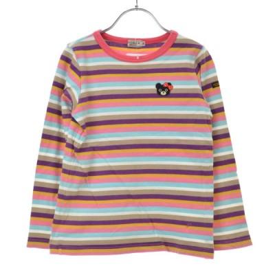 DOUBLE B mikihouse / ダブルビーミキハウス ボーダー柄 長袖Tシャツ