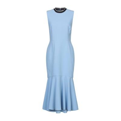 REBECCA VALLANCE 7分丈ワンピース・ドレス スカイブルー 6 ポリエステル 97% / ポリウレタン 3% 7分丈ワンピース・ドレス
