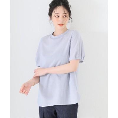 シャツ ブラウス バックパールブラウス【手洗い可能】◆