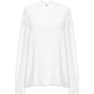 ピアヌラストゥーディ�� PIANURASTUDIO シャツ ホワイト 38 アセテート 69% / シルク 31% / ナイロン シャツ