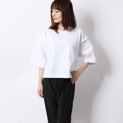 ティゴラ TIGORA レディース 半袖Tシャツ SMART USAコットンヘビーウエイトワイドTシャツ TR-9C2200TS HSM