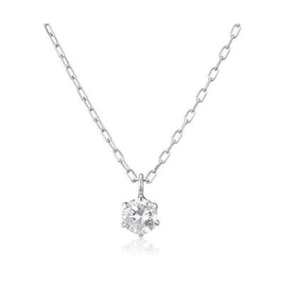 [ディーコレクション] D-COLLECTION プラチナ ダイヤモンドネックレス 0.1ct DPS-2459