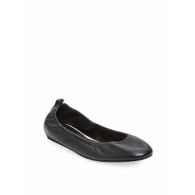 ランバン レディース フラットシューズ Leather Ballet Flat