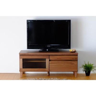 100 テレビボード ミディアムブラウン 一生紀 FLOCK(フロック2)  完成品 flock 幅100 テレビボード テレビ台 TV台 TVボード テレビラック ローボー