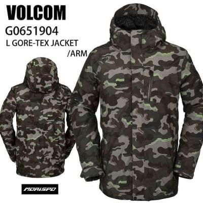 VOLCOM ボルコム ウェア L GORE-TEX JACKET ARM 20-21 スノーボード メンズ ジャケット エルゴア ゴアテックス