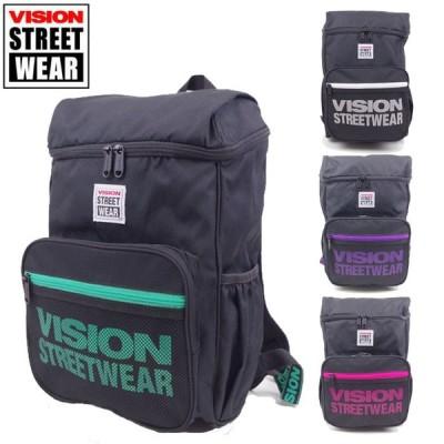 VISION STREET WEAR リュック メンズ ヴィジョンストリートウエア デイパック おしゃれ 9185 バックパック リュックサック レジャー