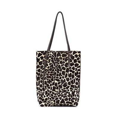 STEPHIECATH Retro Style Women's Totes Bag Natural Horsehair&Italian Cow Lea