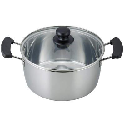 和平フレイズ レシード IH対応両手鍋 22cm 調理器具