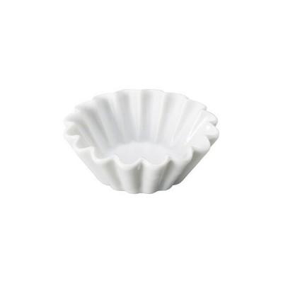 MODERNO モデルノ Amuse プチケーキ型 White 6個セット(T099-9525WH) キッチン、台所用品