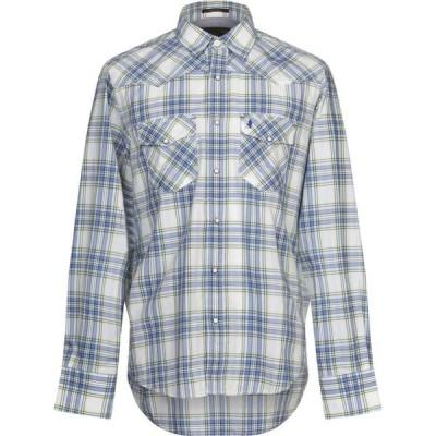 マルボロクラシックス MCS MARLBORO CLASSICS メンズ シャツ トップス checked shirt Azure