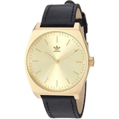 Adidas Men's Process L1 Z05 510-00 Gold Leather Quartz Fashion Watch 並行輸入品