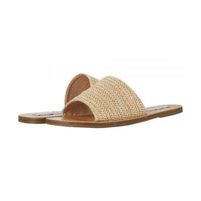 Steve Madden スティーブマデン レディース 女性用 シューズ 靴 サンダル Grace Slide Sandal - Natural Raffia