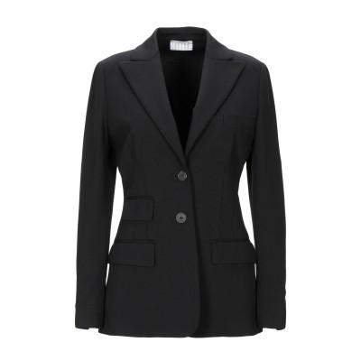 キルティ KILTIE テーラードジャケット ブラック 42 レーヨン 66% / ナイロン 30% / ポリウレタン 4% テーラードジャケット