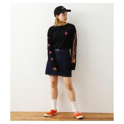 スカート デニム Zip Pocketデニムスカート