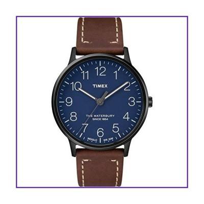 Timex Waterbury Classic 40mm Leather Strap Watch TW2R25700 並行輸入品