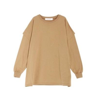 【ラグナムーン/LAGUNAMOON】 タックスリーブロングTシャツ