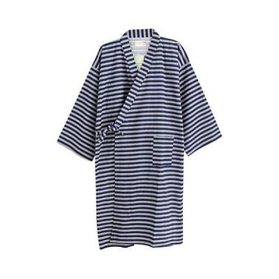 バスローブ 甚平 浴衣式 ワンピース ルームウェア 部屋着 化粧着 寝間着 和風 パジャマ 前開き 着け脱ぐ簡単 メンズ レディース お風呂