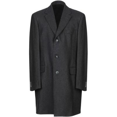 バランタイン BALLANTYNE コート 鉛色 54 バージンウール 90% / カシミヤ 10% コート