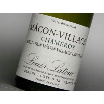 ルイ・ラトゥール マコン・ヴィラージュ シャムロワ (ハーフ) 375ml (ワイン)