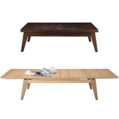 伸長式リビングテーブル COPAN エクステンションテーブル W120-180cm アッシュ材