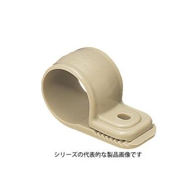 未来工業 KTK-16J  ワニグチ片サドル(ベージュ) φ18〜φ24